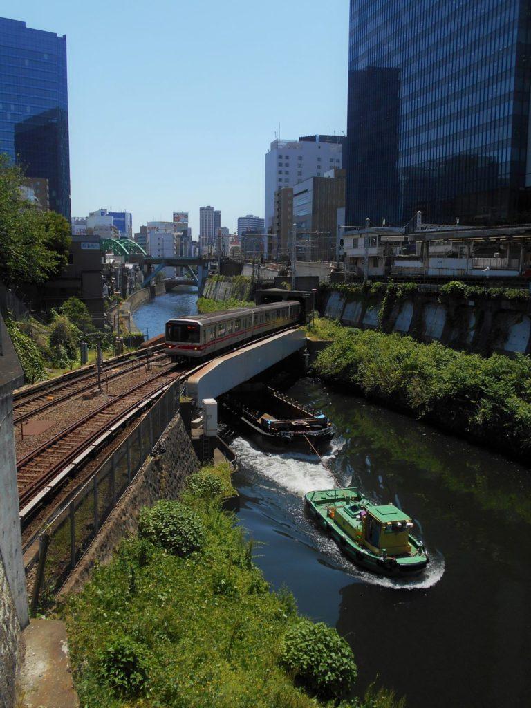 地下鉄丸ノ内線神田川橋梁