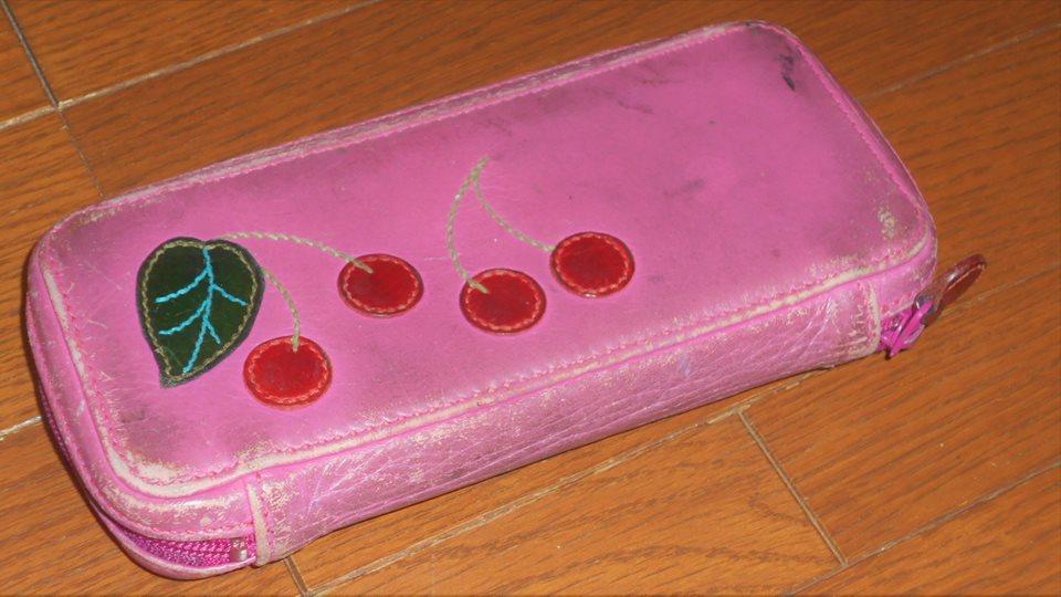 小学校6年間愛用の筆箱の画像。
