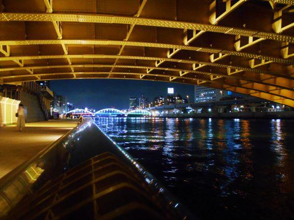 蔵前橋から望む厩橋、駒形橋の画像。