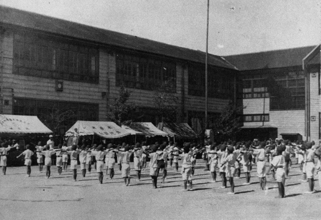 「昭和17(1942)年の寺地国民学校(運動会)」西新井 足立区の画像