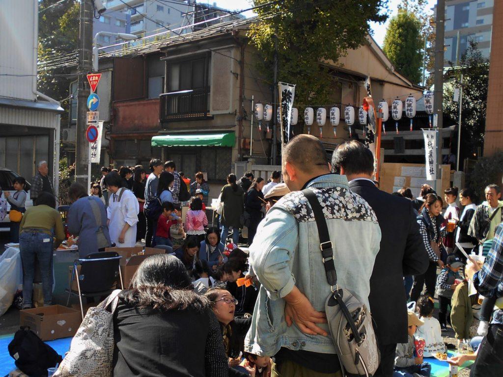 秋葉神社大祭の画像。