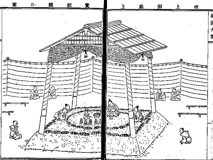 岡敬孝編『古今相撲大要』(明治18年 攻玉社 国会図書館デジタルコレクション)の画像