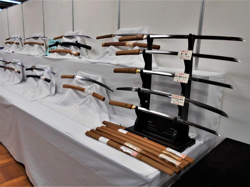 刀剣市の画像。