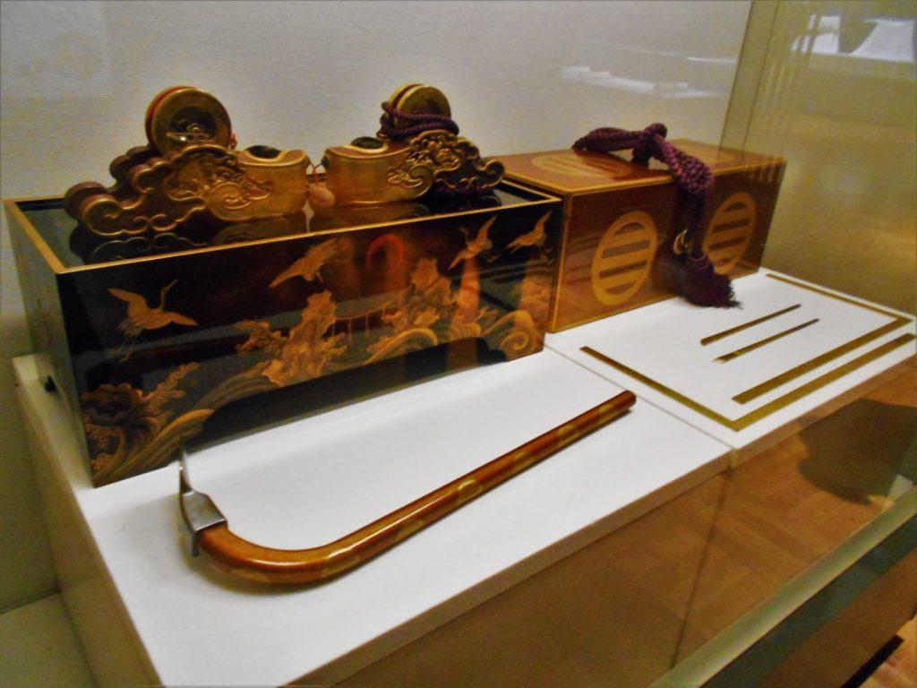 「宮大工祭礼用道具」の画像。