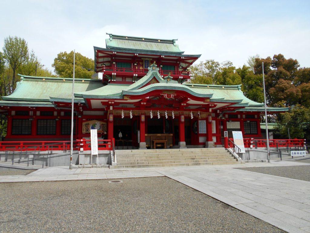 富岡八幡宮の画像。