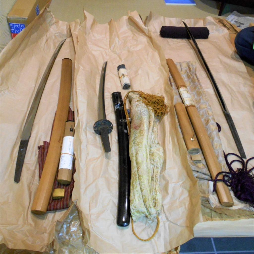 長岡先生に見てもらった刀の画像。