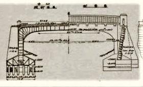 「浜洲橋」(『本邦道路橋輯覧』内務省土木試験場(道路改良会、1928)国立国会図書館デジタルコレクション)一般図の画像
