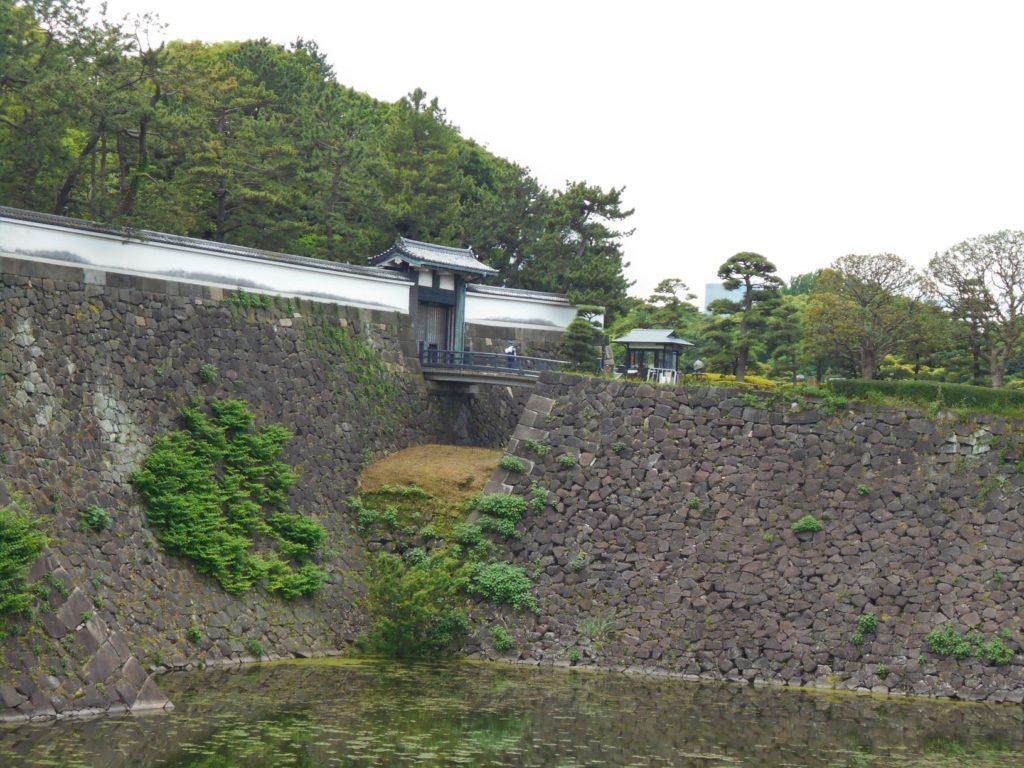 江戸城北桔橋門の画像。