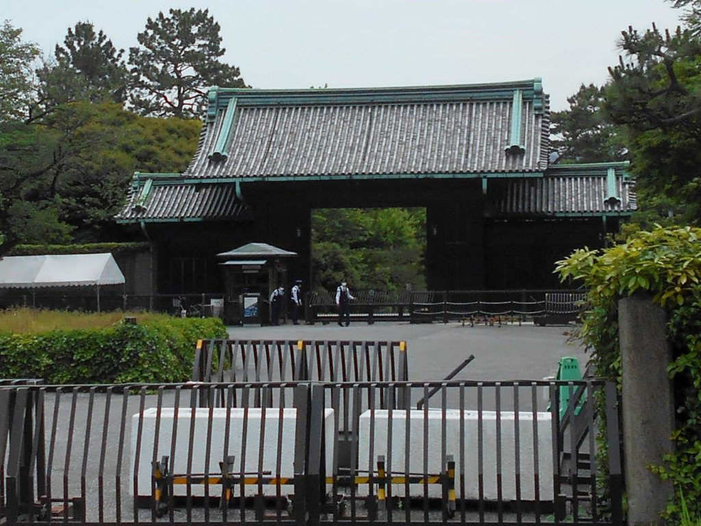 江戸城乾門の画像。