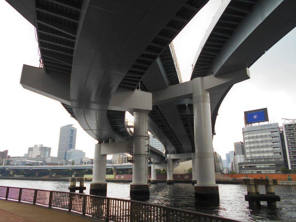 首都高速両国大橋の画像。
