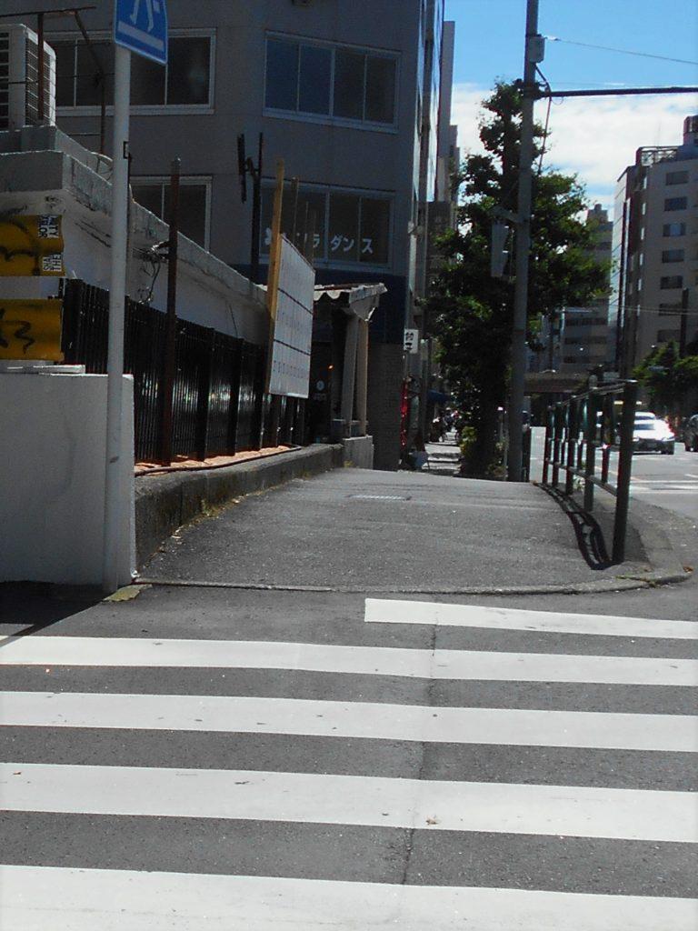 大和橋南側歩道の画像。