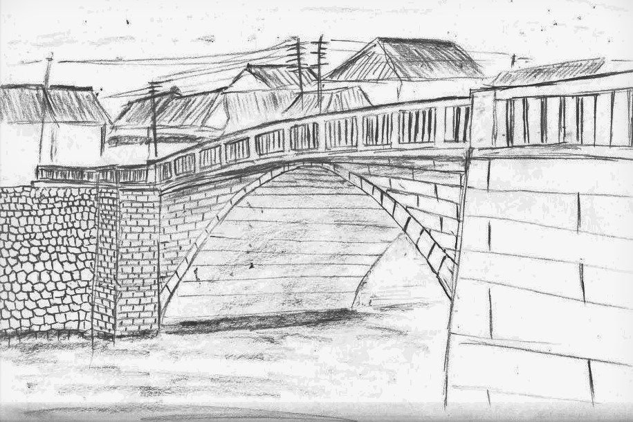 緑橋想像図の画像。