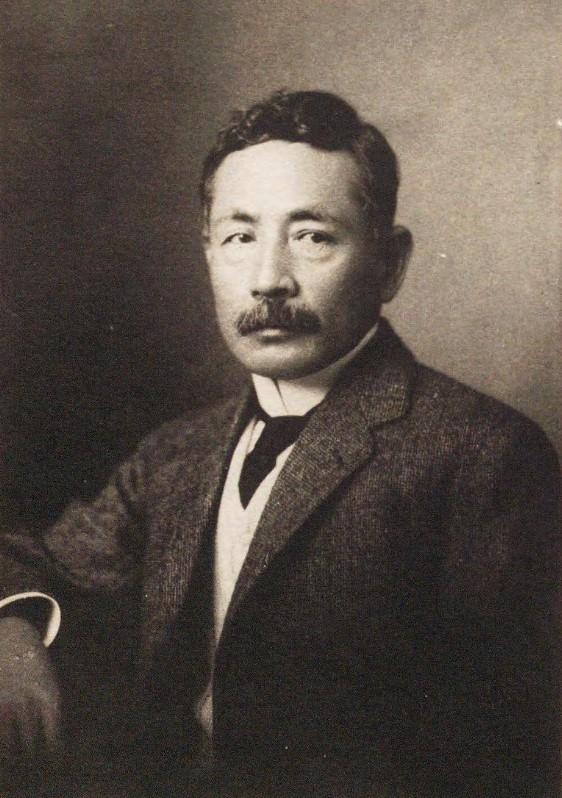「夏目漱石」(『漱石全集 第5巻』夏目漱石(漱石全集刊行会、1924)国立国会図書館デジタルコレクション)の画像。