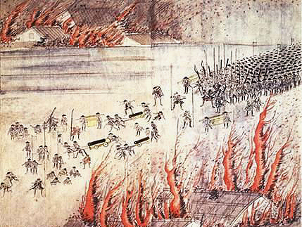 大塩平八郎の乱(Wikipediaより2020.8.24ダウンロード)の画像。
