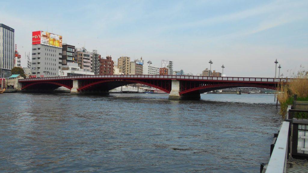 吾妻橋の画像。