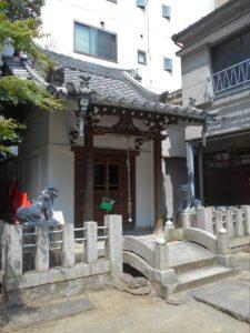 金刀比羅神社社殿の画像。