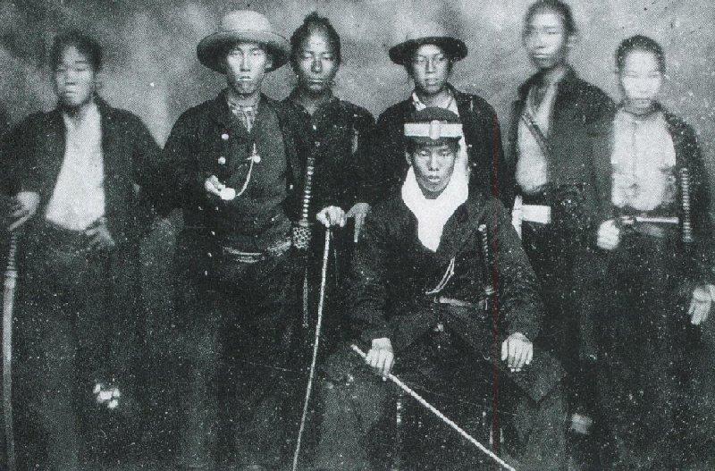 長州奇兵隊(Wikipediaより2020.8.26ダウンロード))の画像。