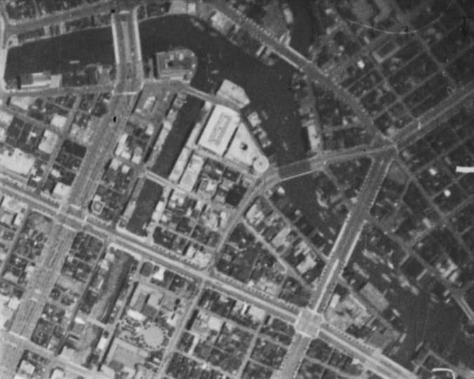 昭和11年撮影空中写真(B29-C3-54)〔部分〕の画像。
