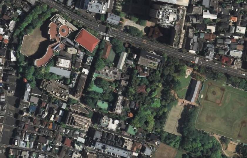 平成21年撮影空中写真(国土地理院Webより、CKT20092-C61-10〔部分〕) の画像。