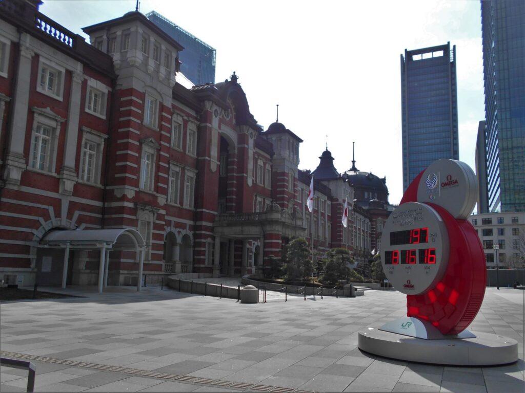 東京駅丸の内口の画像。