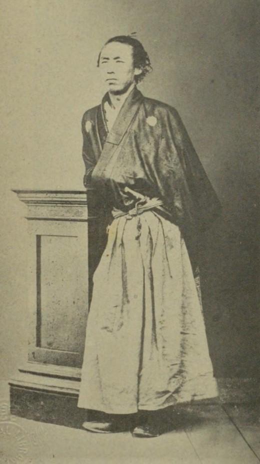 「坂本龍馬肖像」(『土佐の勤王』徳富蘇峰(民友社、1929)国立国会図書館デジタルコレクション)の画像。