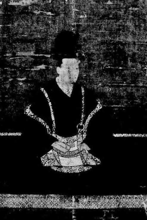 「足利義教画像」(『日本肖像画図録』奈良国立博物館編(便利堂、1938)国立国会図書館デジタルコレクション)の画像。