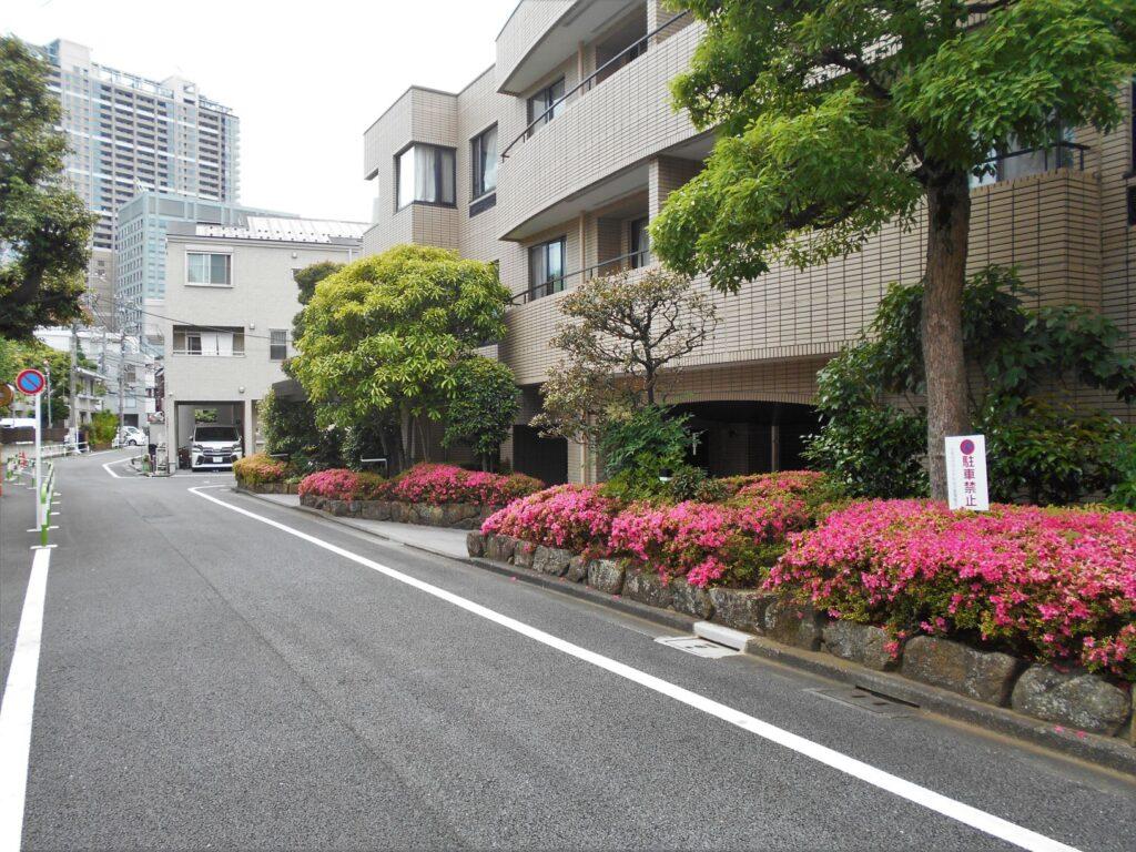 足利子爵家上富坂町屋敷推定地の画像。