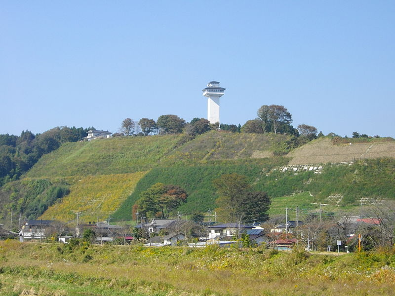 喜連川城址(Wikipediaより20210529ダウンロード)の画像。