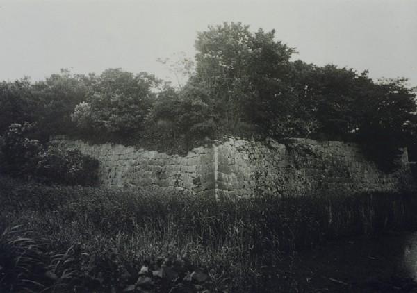 大正時代の水口城址(Wikipediaより20210507ダウンロード)の画像。