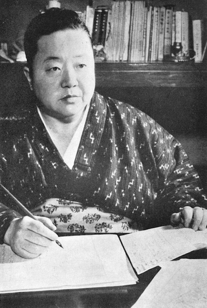 宮本百合子(Wikipediaより20210530ダウンロード)の画像。