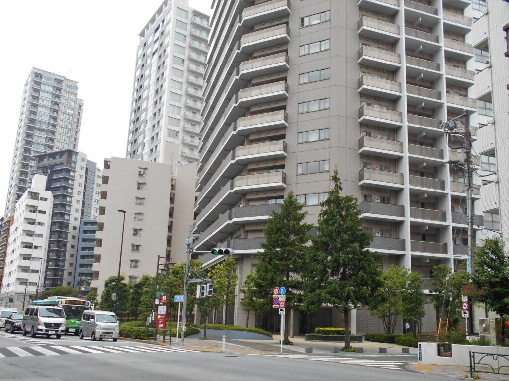 喜連川藩江戸屋敷跡地の画像。