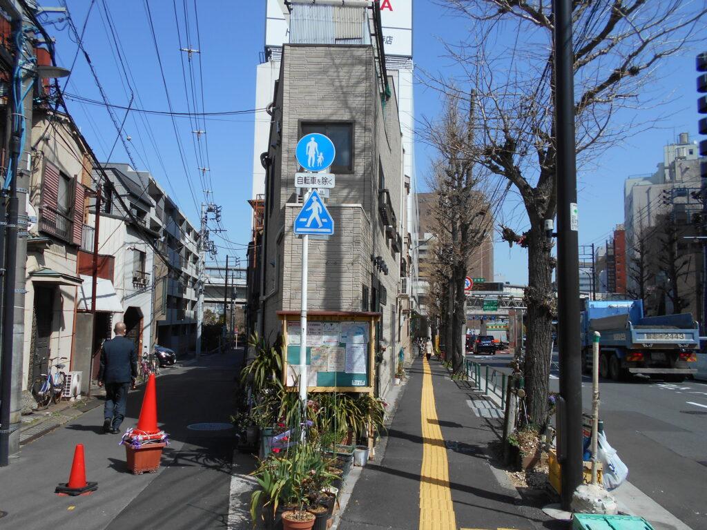 足利子爵家雑司ヶ谷屋敷推定地の画像。