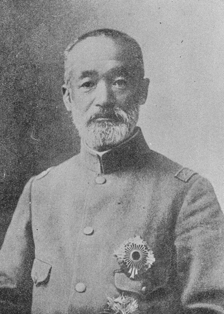 乃木希典(「近代日本人の肖像」国立国会図書館)の画像。