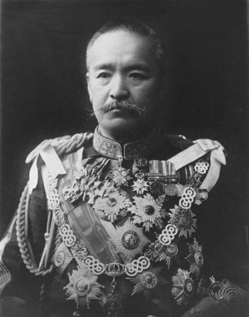 桂太郎(「近代日本人の肖像」国立国会図書館より)の画像。