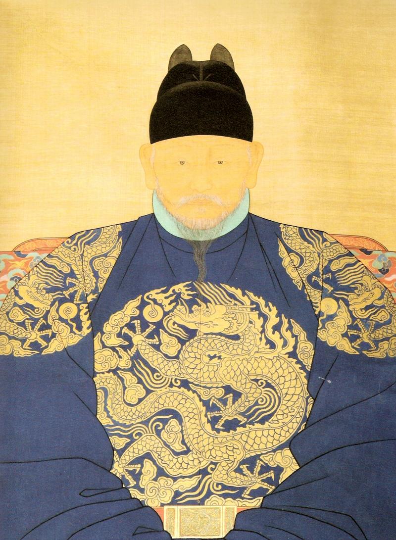 太祖李成桂(Wikipediaより20210827ダウンロード)の画像。