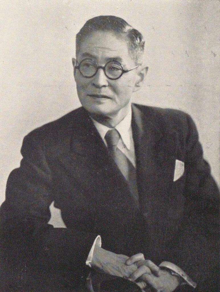 田中耕太郎 (「近代日本人の肖像」国立国会図書館)の画像。